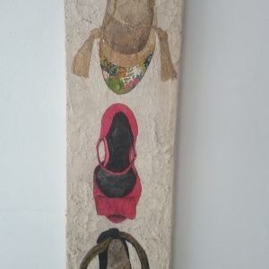 """Funny Shoes""Ximena Yutronic Art Gallery"