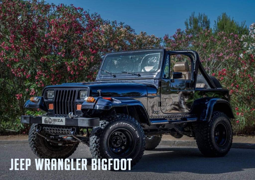 Jeep Wrangler Bigfoot