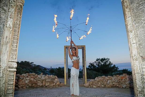 Ibiza Star Events, Entertainment